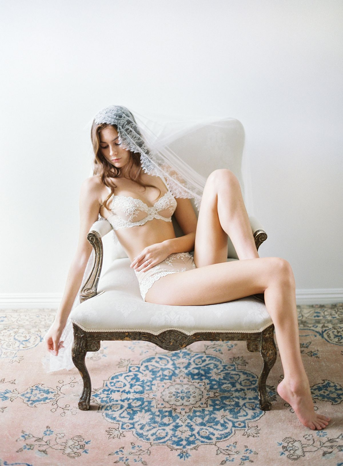 Boudoir Session with Christine Clark with styling by Designs by Hemingway